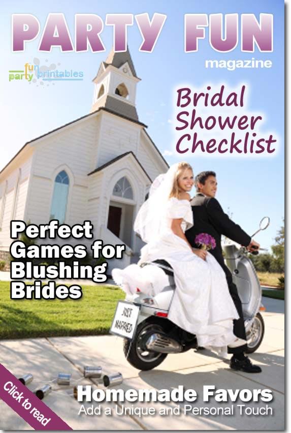 Bridal Shower Magazine