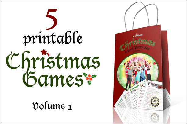 Christmas 5-pack Printable Games